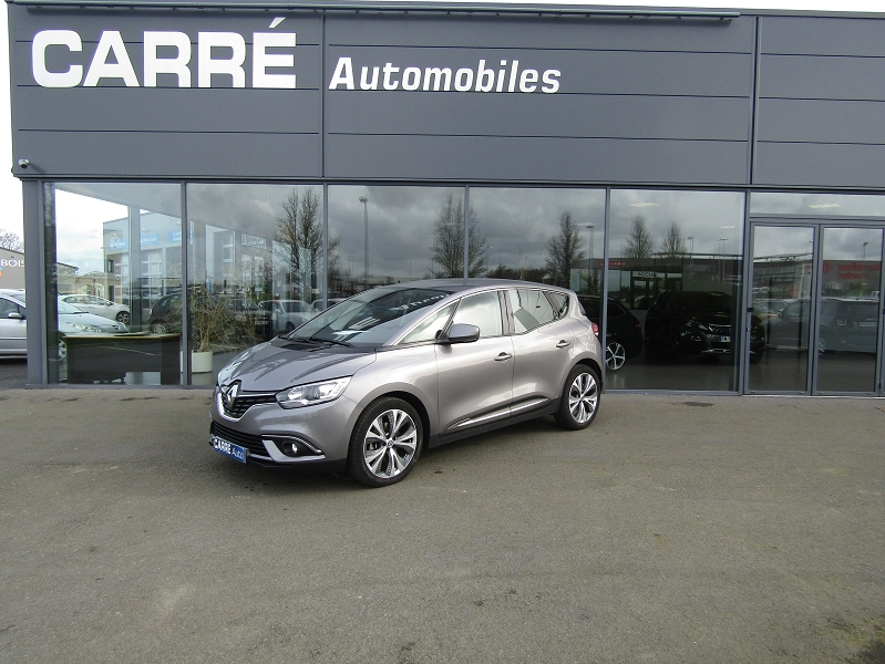Renault SCENIC 1.5 DCI 110CH ENERGY INTENS Diesel GRIS Occasion à vendre