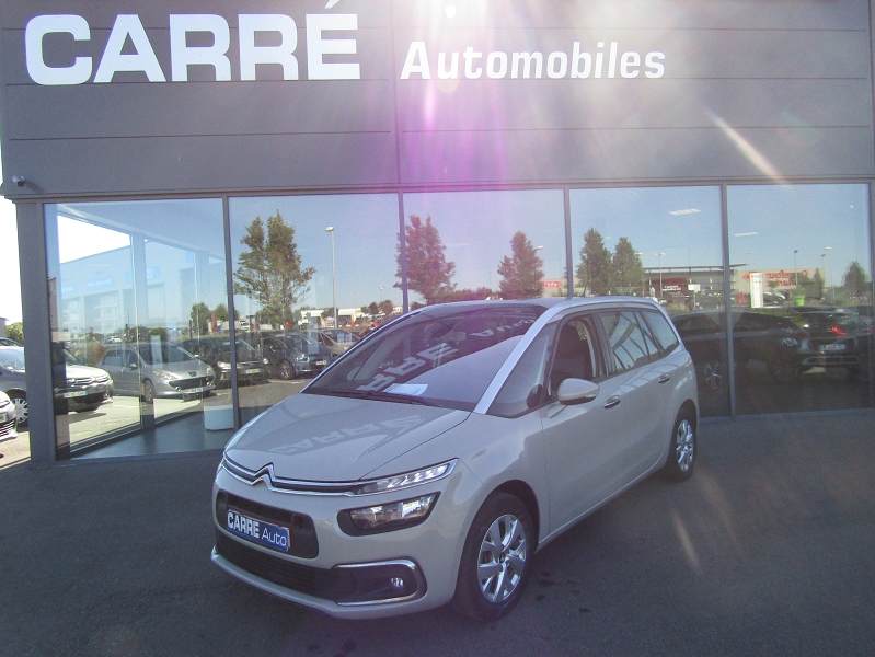 Citroen GRAND C4 PICASSO BLUEHDI 115CH FEEL S&S Diesel BEIGE SABLE Occasion à vendre