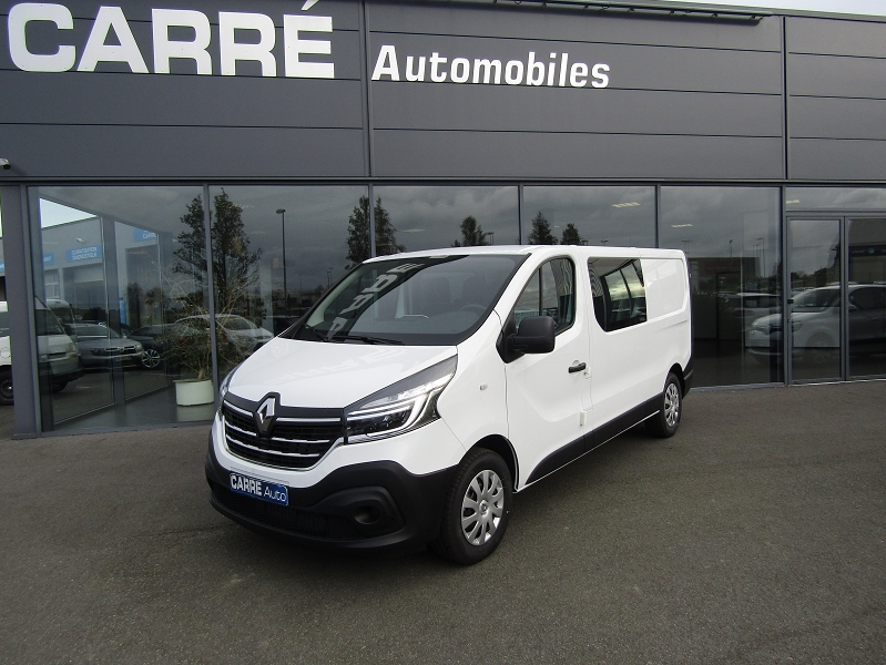 Renault TRAFIC III FG L2H1 1200 2.0 DCI 170CH ENERGY CONFORT EDC E6 Diesel BLANC Occasion à vendre